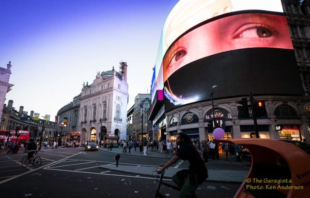 Lotus Originals at London's Piccadilly Circus