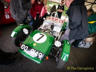 Series 2 Lotus Seven, Piers Courage first race car.