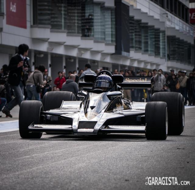 1977 Lotus Type 78 driven by Masayuki Goto