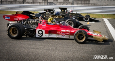 Japan Lotus Day - Formula One Gold Leaf.