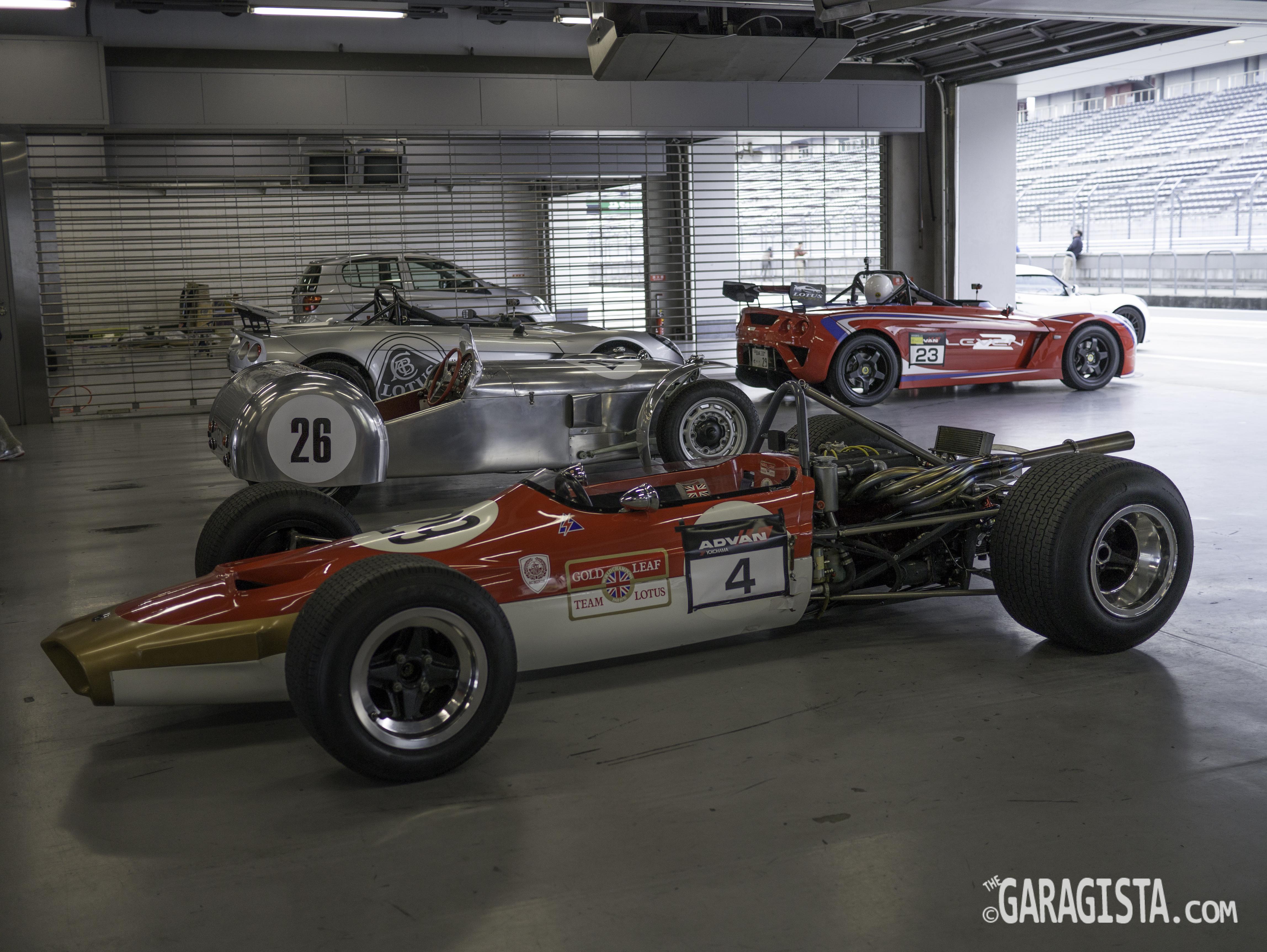 Japan Lotus Day 2012 ジャパン・ロータスデー2012: Part 3 Monoposto Cars |