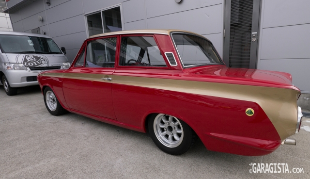 Allan Mann Tribute Lotus Cortina
