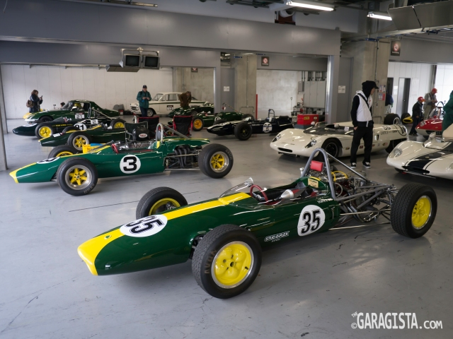 Lotus Monoposto heaven: Japan Lotus Day