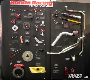 HPD racing parts
