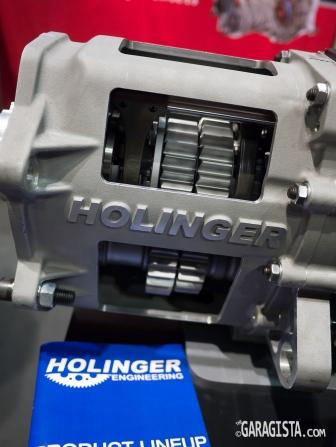 Holinger straight cut gears