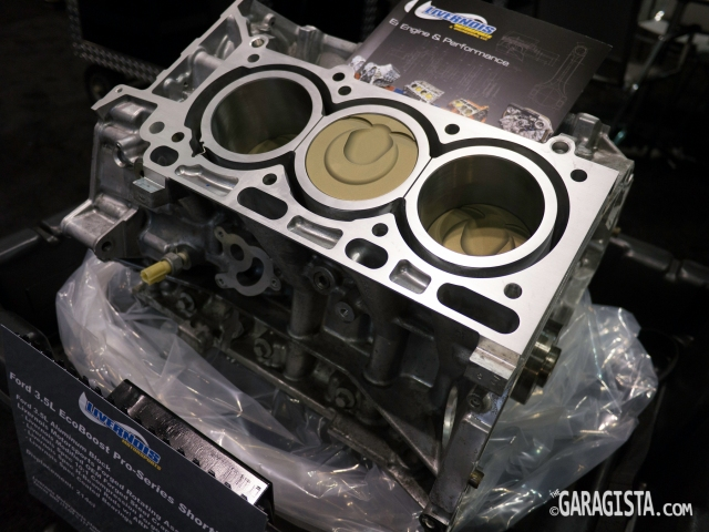EcoBoost 3.5L performance short block