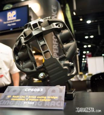 AP Racing lightweight 6 piston caliper