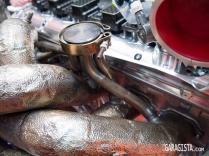 Aston Martin R17- Exhaust detail