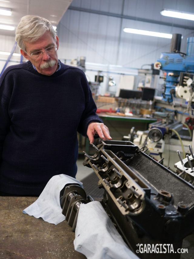 Jim talkes about cylinder head repair