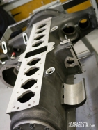 Alfa Romeo 8C Engine block-massive