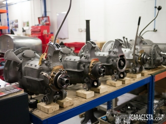 Alfa gearboxes
