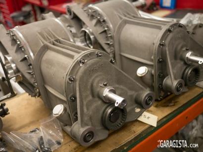 Alfa Romeo 2900 gearboxes