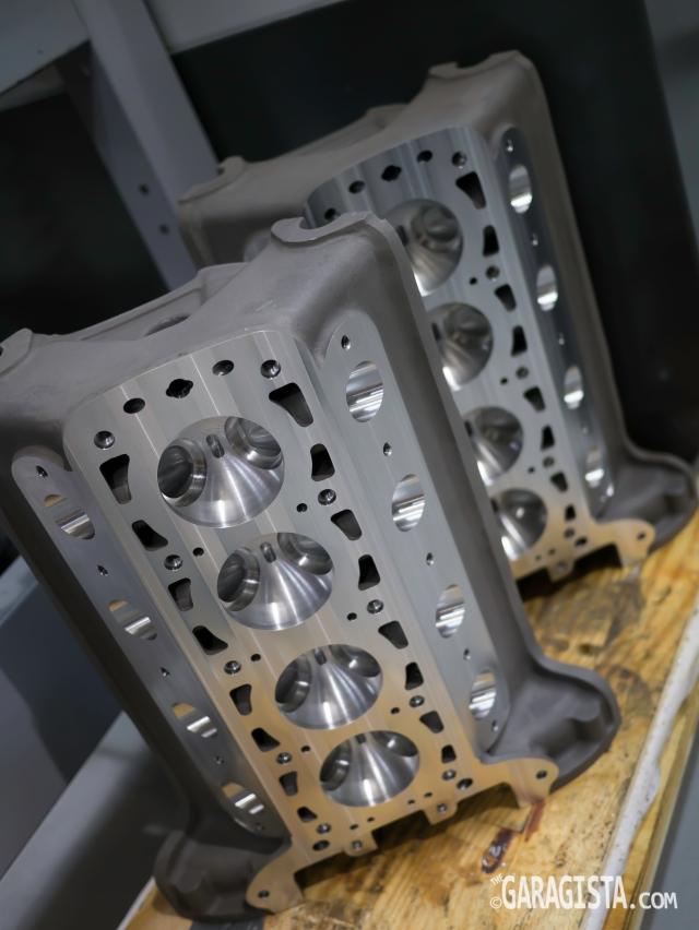 Alfa Rome 8C Cylinder heads