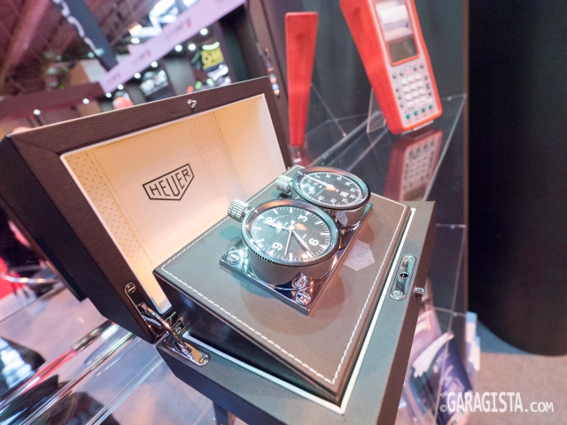 Tag Heuer classic rally stop watches
