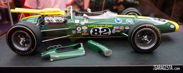 Lotus Type 38 : 1/8 Scale