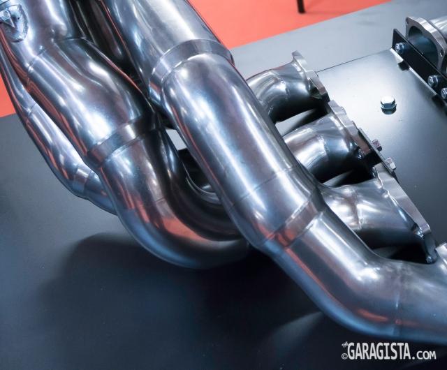 F1 exhaust manifold