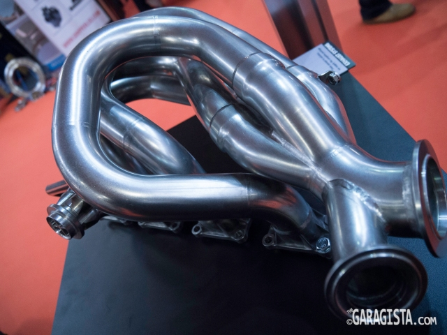 WTC Exhaust - wastegate detail