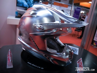 Machined from solid helmet