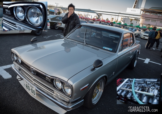 JCCA 2013, Nissan Skyline