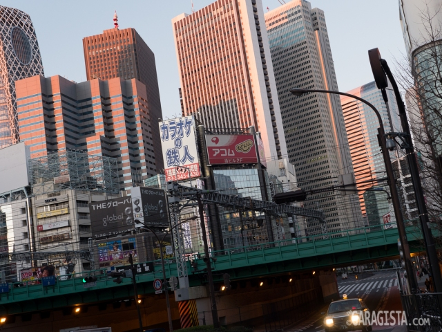 Tokyo - Shinjuku 7am Sunday