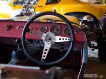 Lotus Seven cockpit