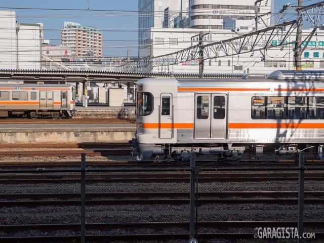 Local train to Nishi Okazaki