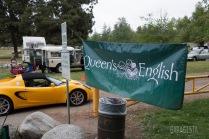 Queen's English car show. 2013. Woodley Park.