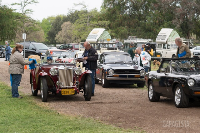 The 2013 Queen\'s English British car show. |