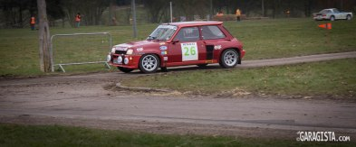 Renault R5 Turbo in action