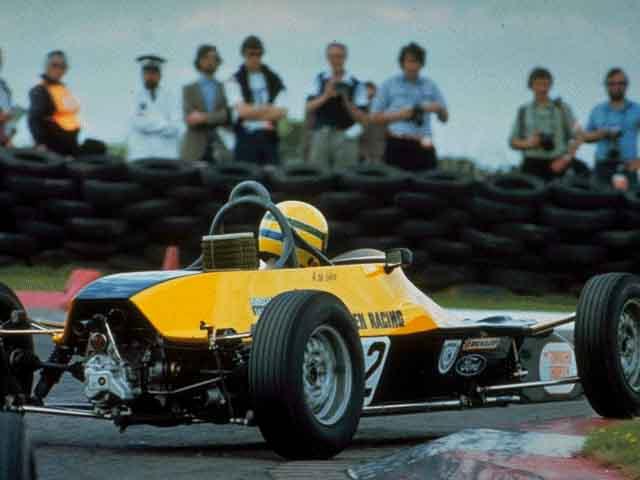 Senna in Formula Ford. (image from www.sennaworld.com)