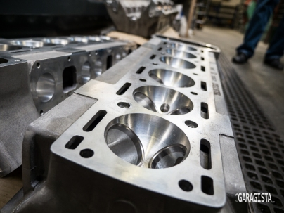 Jaguar Wide Angle Cylinder Head