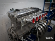 Crosthwaite and Gardiner D Type Jaguar Engine