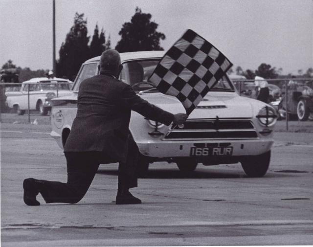 Dan Gurney Sebring 1964 Lotus Cortina
