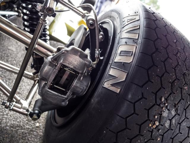 Lotus 59 Rear suspension