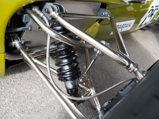 Lotus 59 Front Suspension detail up close