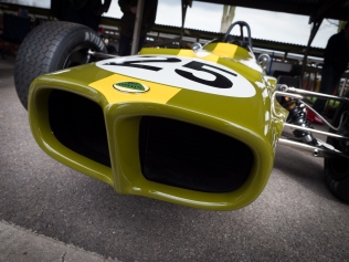 The Lotus 59 Featured unique shark nose styling