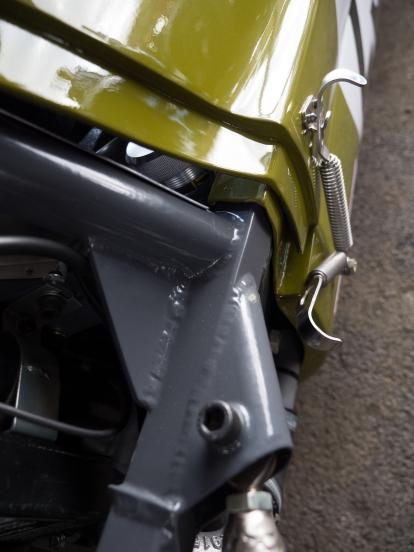 Lotus 59 Body work detail