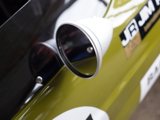 Lotus 59 with traditional bullet mirror