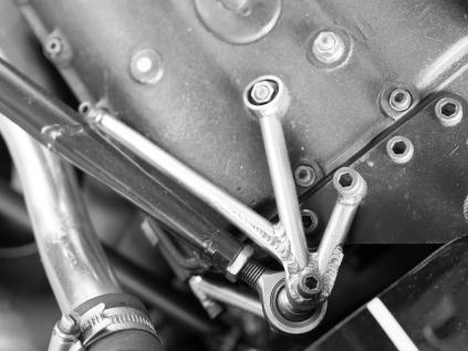 Lotus 72 - Fabricated mounts